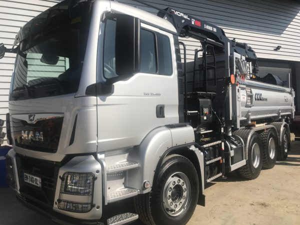 Camion 8x4 benne 32T